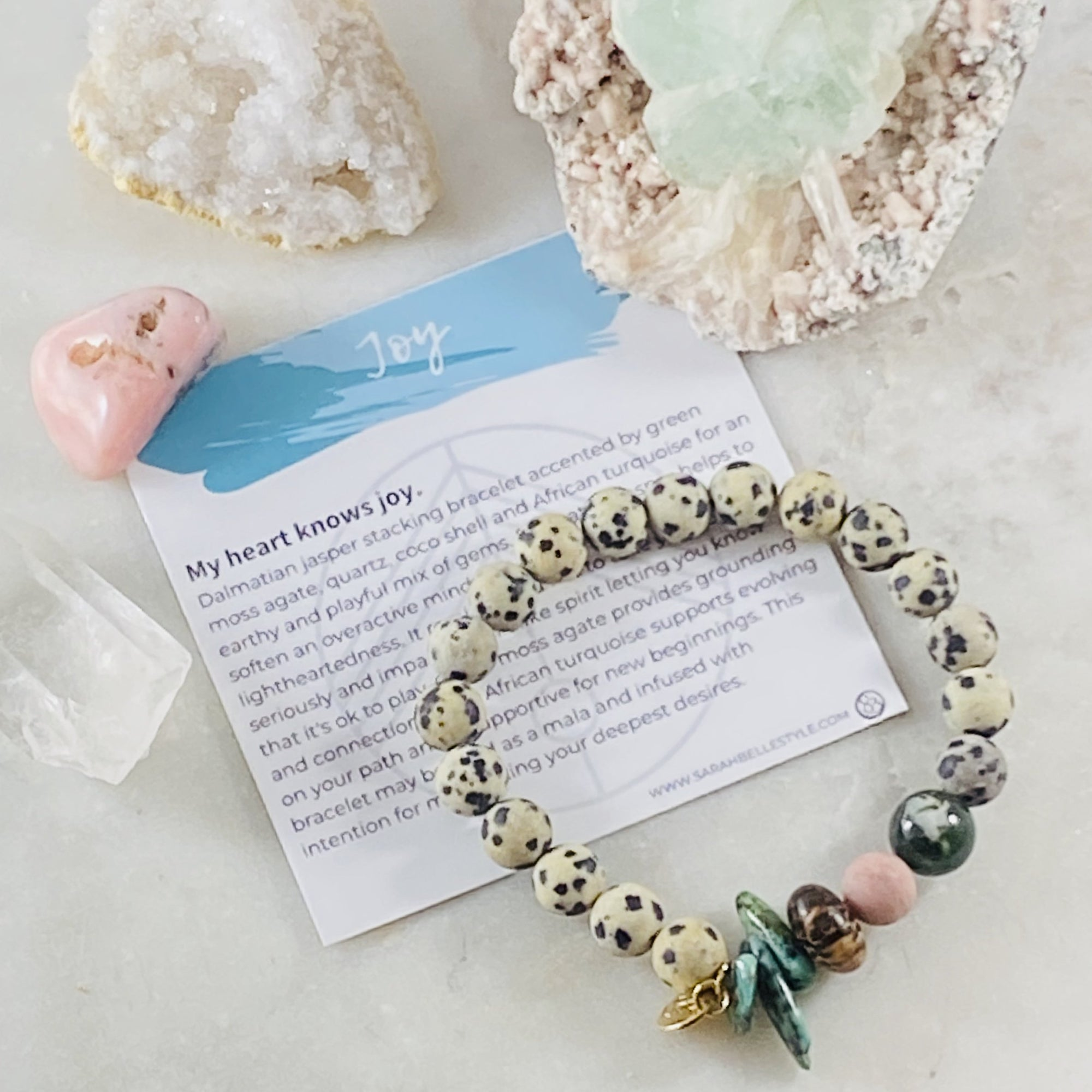 Sarah Belle Joy Gemstone Stacking Bracelet