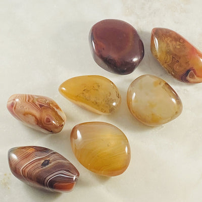 Sardonyx Supportive for strengthening your inner voice and realizing your potential