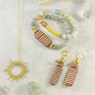 Handmade jewelry for uplifting the spirit by Sarah Belle
