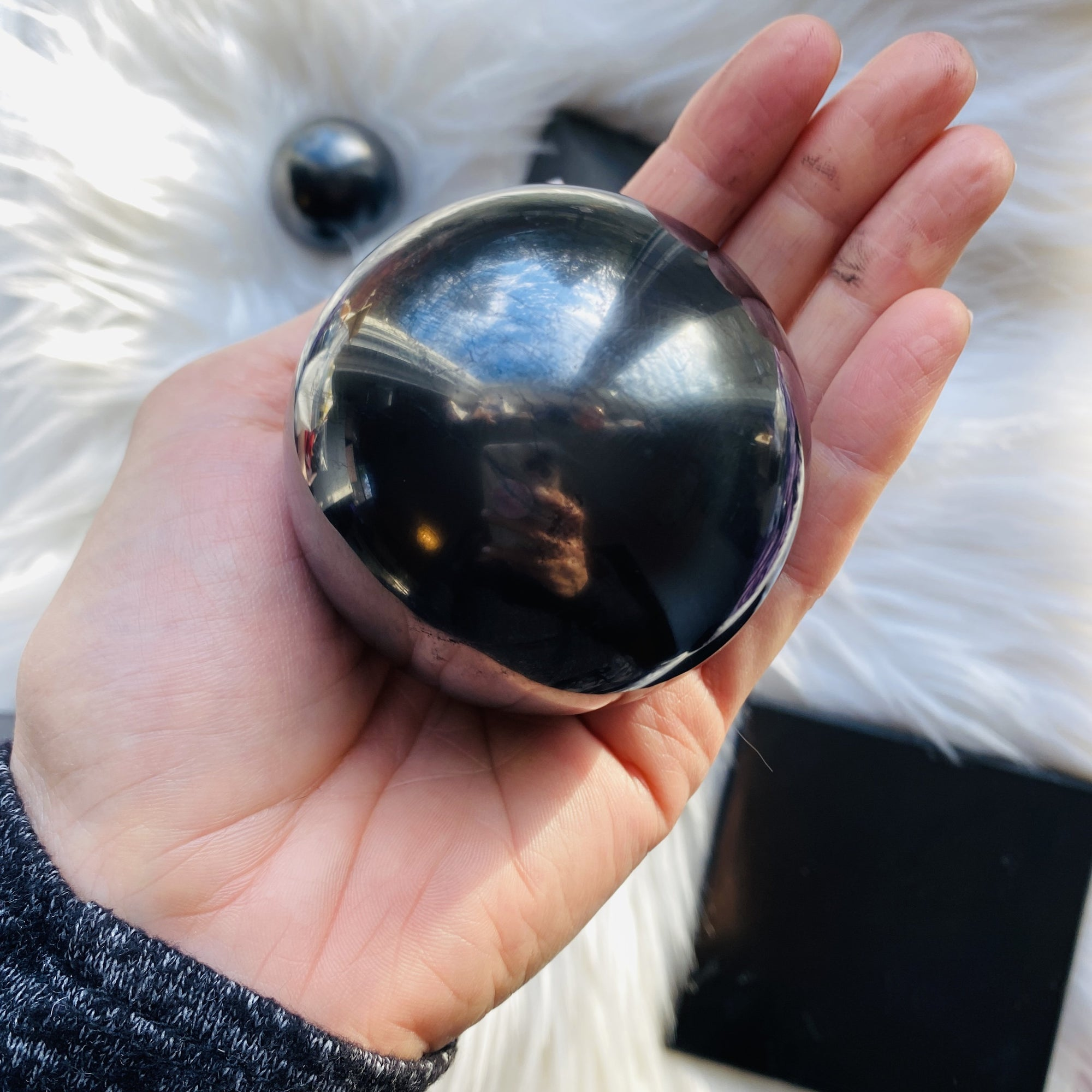 Shungite Sphere Large