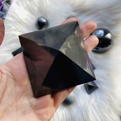 Shungite pyramid for protection from Sarah Belle