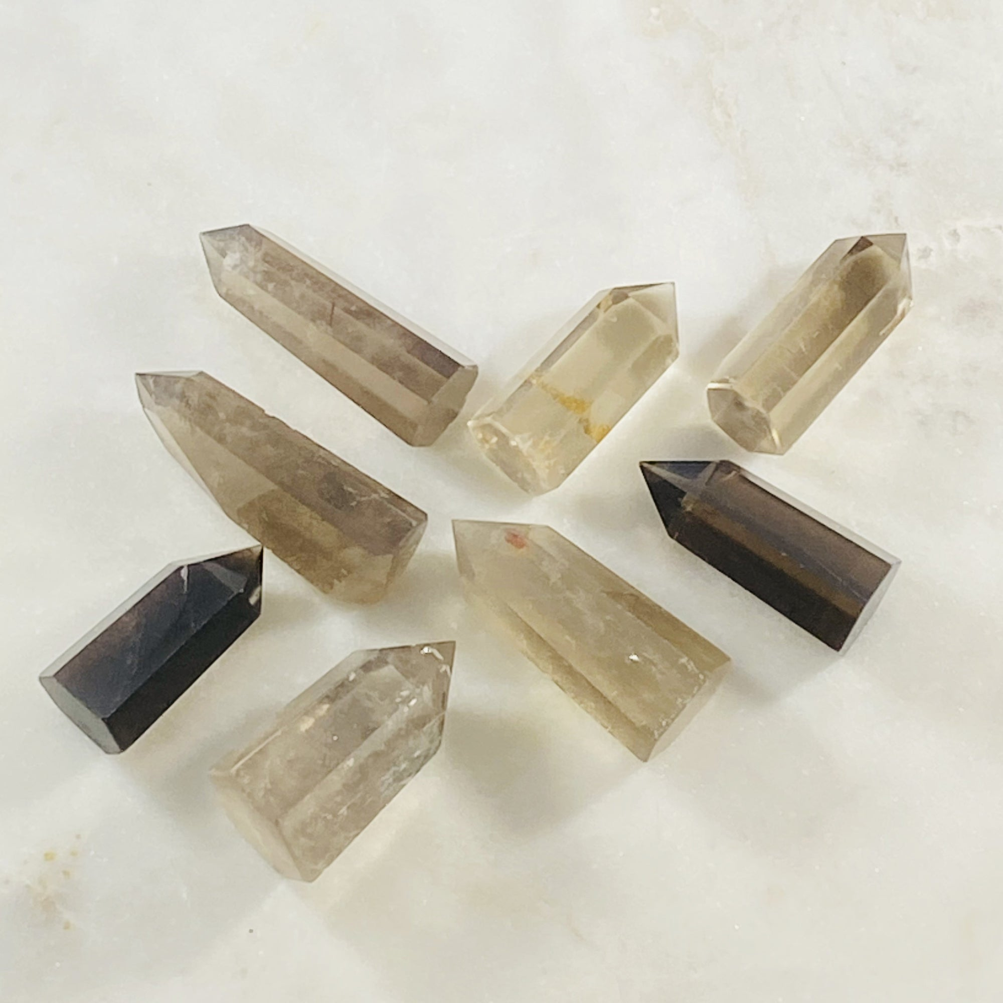 Smokey quartz for grounding and balance