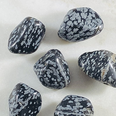 Snowflake Obsidian Healing Crystal for Removing Negative Energy