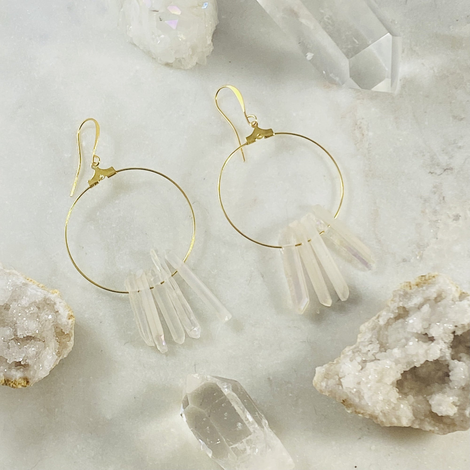 Stargazer Hoop Earrings