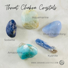 top five crystals for throat chakra