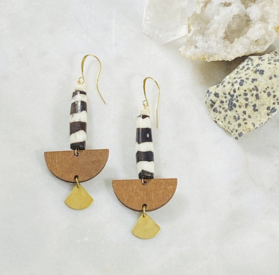 Handmade Sarah Belle Tilly Earrings for the wanderer spirit