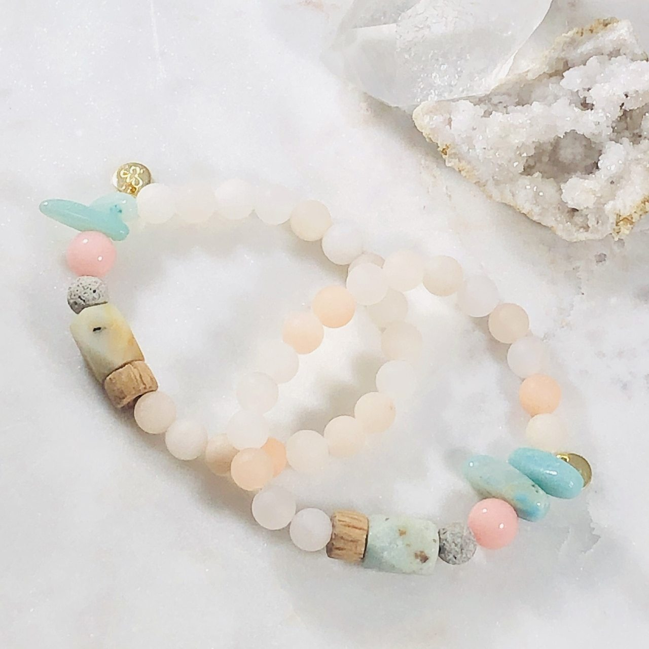 Bracelet of the Month! - Tranquil Stacking Bracelet (Diffuser)