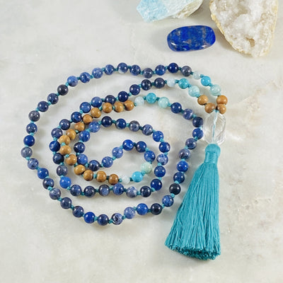 Truth Mala for meditation and yoga by Sarah Belle