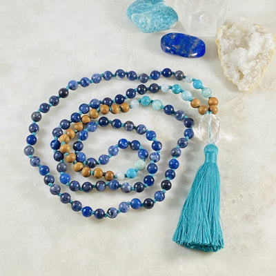 Truth Mala for mantra meditation and peace by Sarah Belle