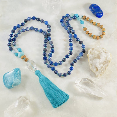 Truth Mala for spiritual practice by Sarah Belle