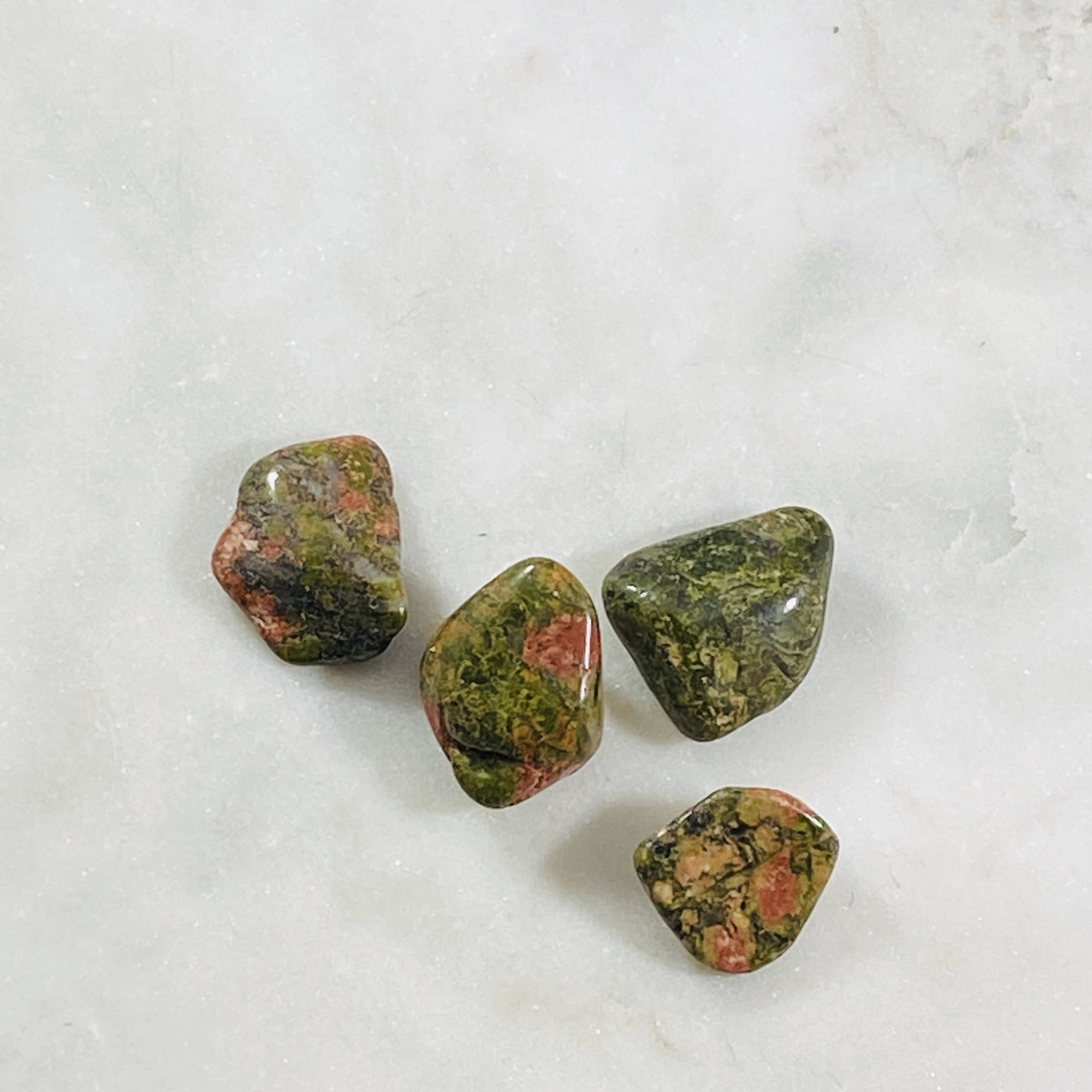 Unakite Healing crystal energy for love and balance