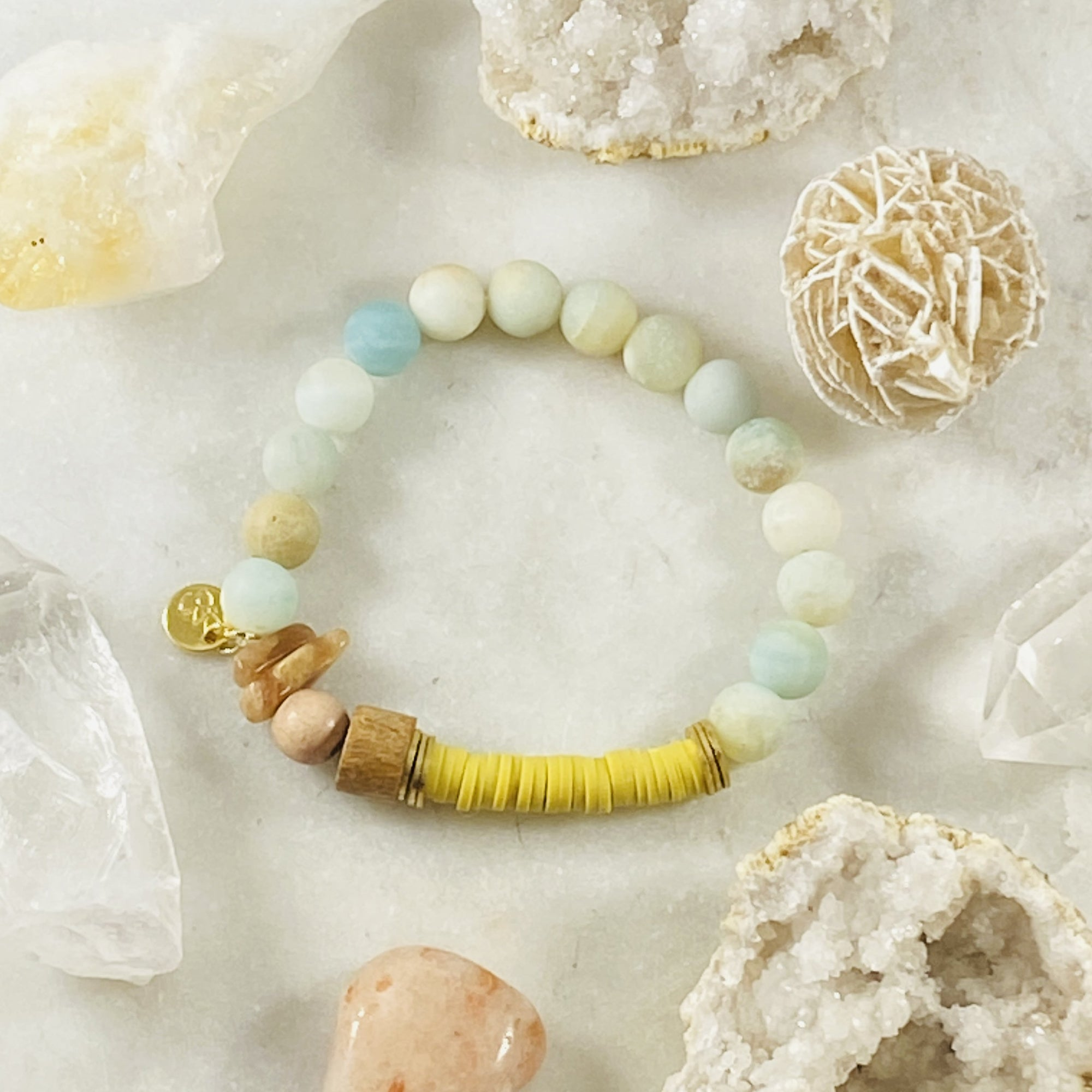 Uplifting Stacking Bracelet