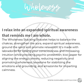Wholeness Stacking Bracelet (Diffuser)