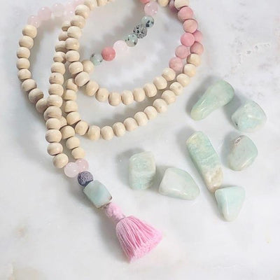 Amazonite Tumbled Healing Stones for Anxiety and Tranquility