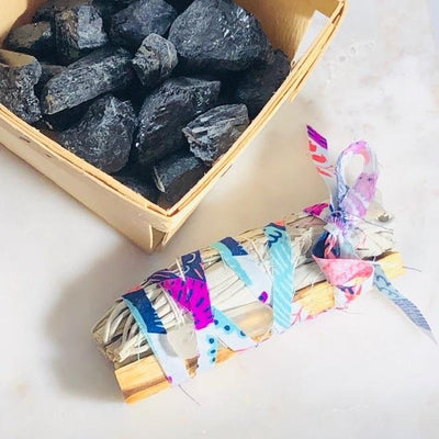 Black Tourmaline Crystal Protection Against Negative Energy