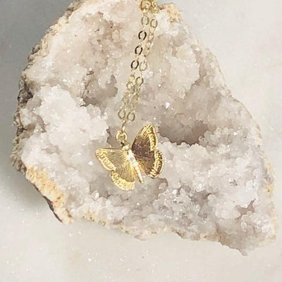 Butterfly Charm Necklace Intentionally Created Talisman for Inspiring the Soul and Spirit