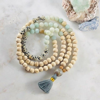 Custom Mala Intuitively Handmade Just for You for Meditation