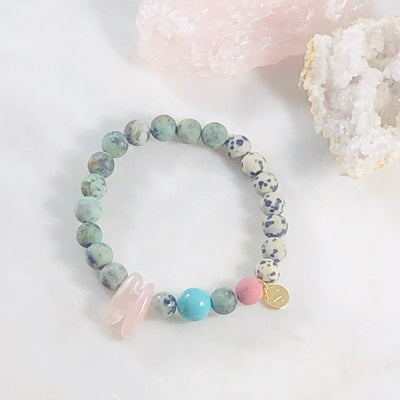 Go Lightly Stacking Bracelet Crystal Jewelry for New Beginnings
