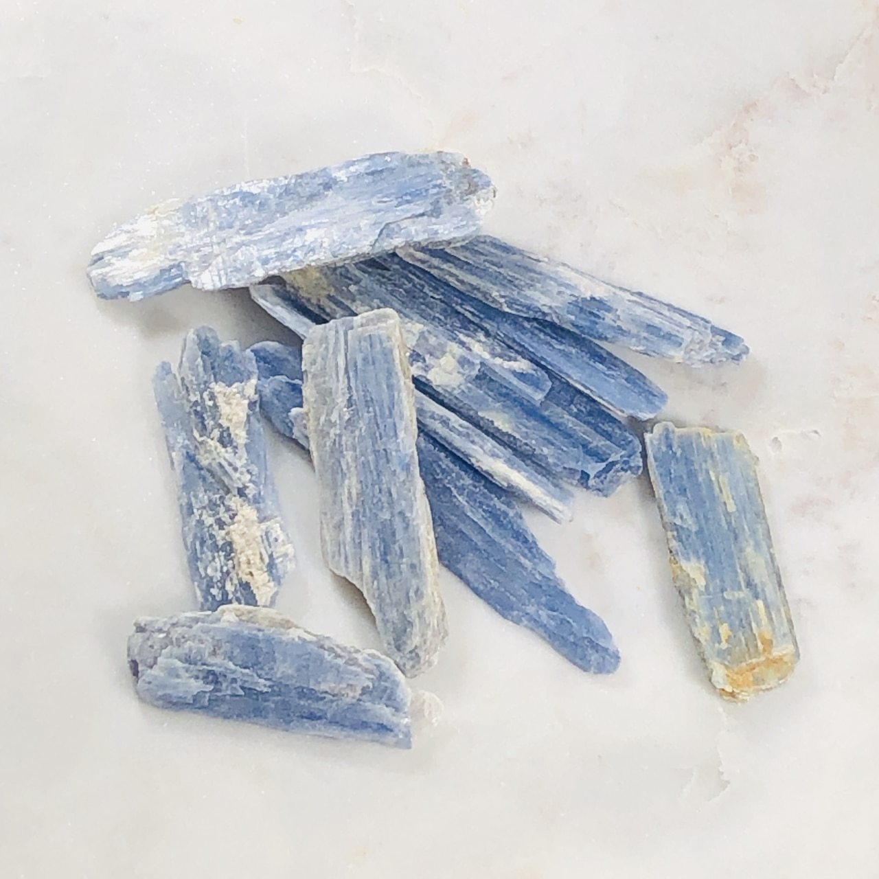 Blue Kyanite Healing Crystal Blades for Release of Fear