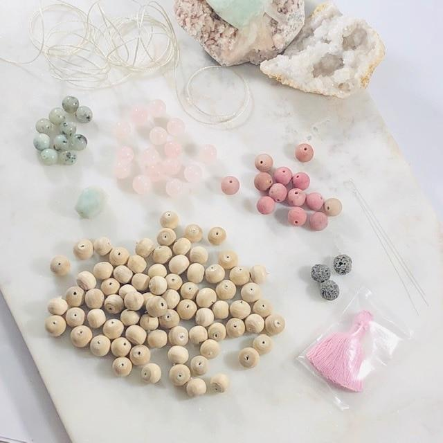 Mala Making Kit - Love