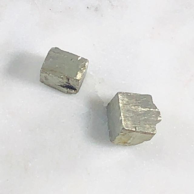 Pyrite Cubes for Manifestation of Wealth and Prosperity