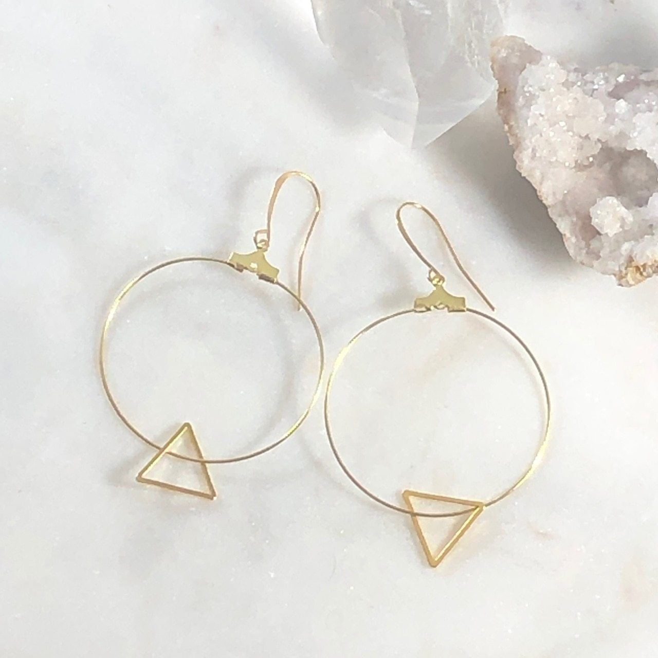 Sacred Geometry Earrings for a Modern, Boho Style