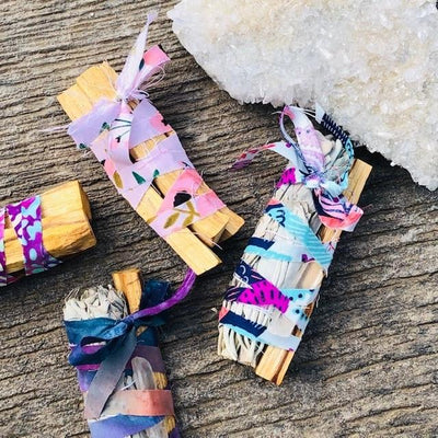 Sage Palo Crystal Bundle