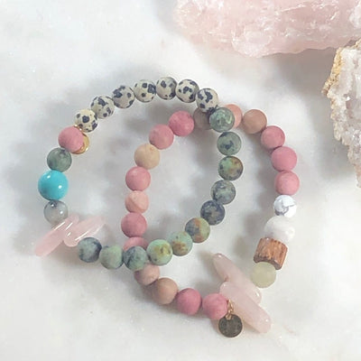 Compassion Stacking Bracelet Crystal Jewelry for Love