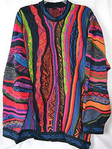 Autumn Casual Vintage Printed Oversize Long Sleeve Cotton Top
