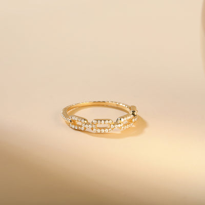 Tension | White Diamond Chain Ring