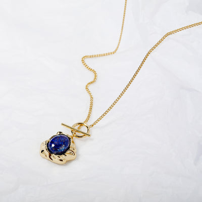 The Beauty of Ambiguity | Lapis Necklace