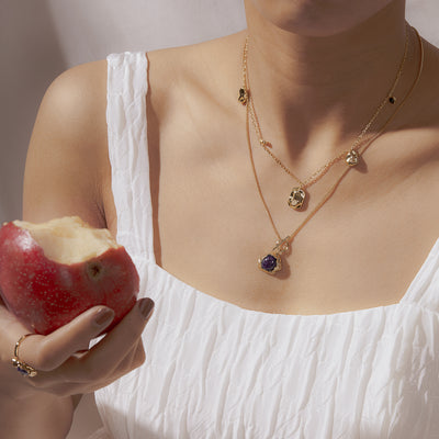 The Beauty of Ambiguity | Malaquite Necklace
