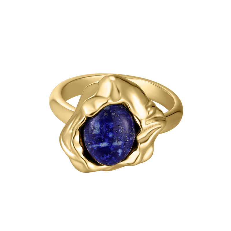 The Beauty of Ambiguity | Lapis Ring