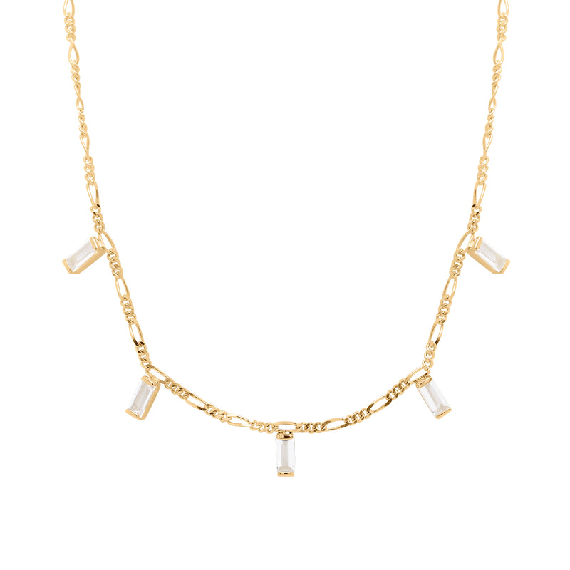 Twinkle | White Topaz Necklace