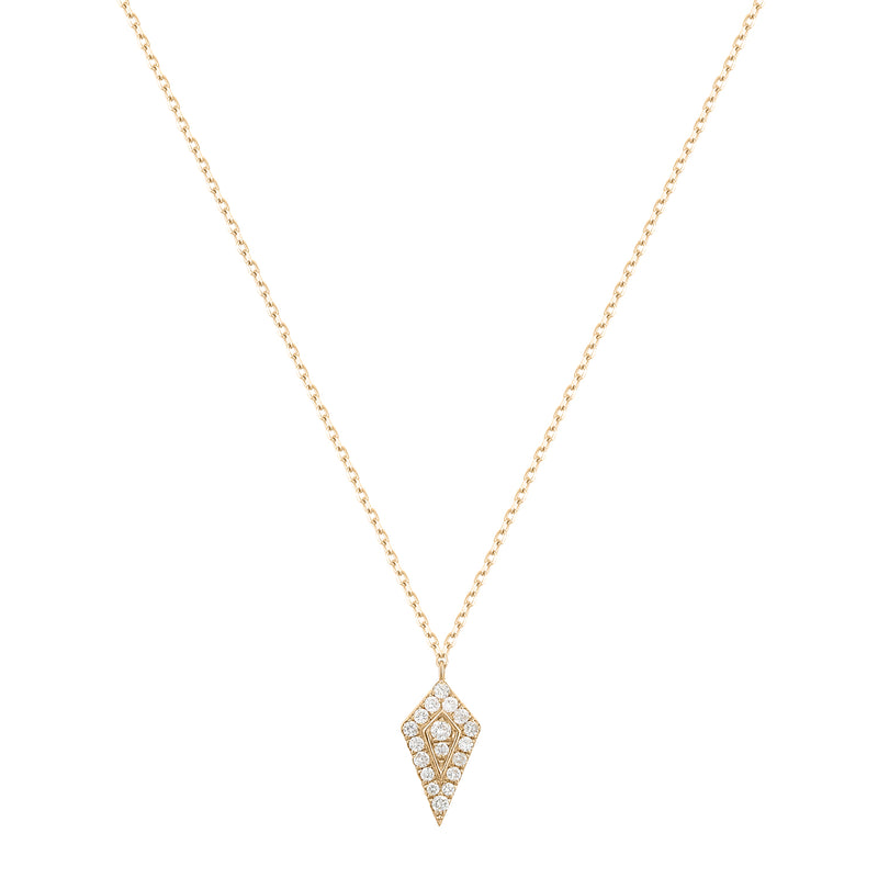 Tension | White Diamond Necklace
