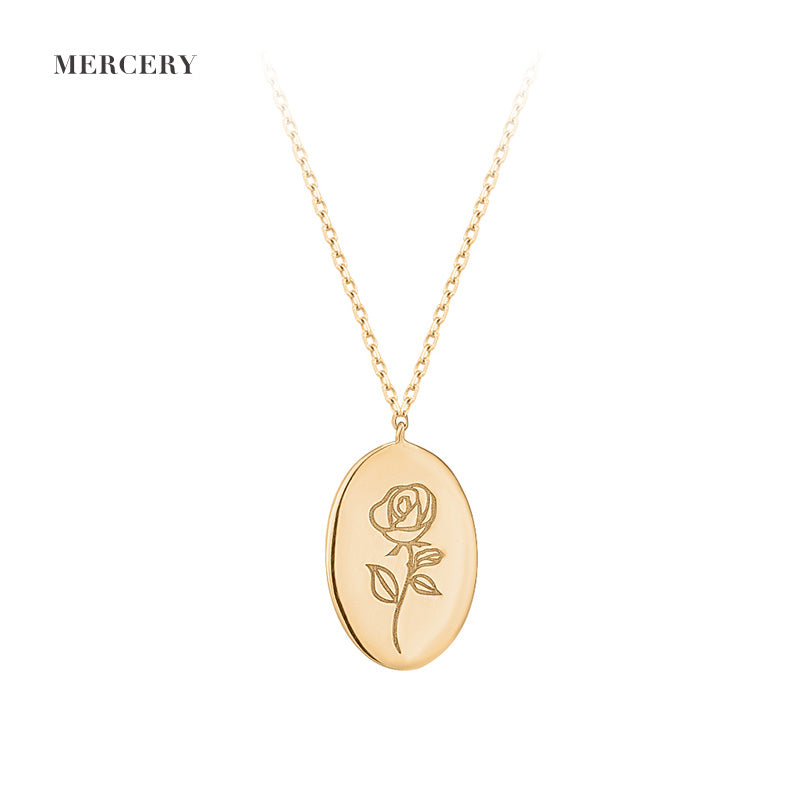 Mother's Day | Diamond Rose Necklace
