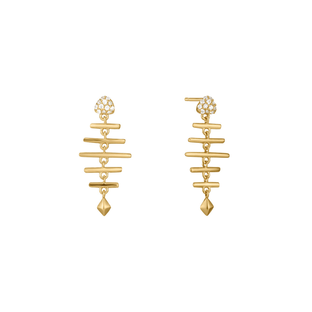 Aquatic Dream | Zircon Earrings