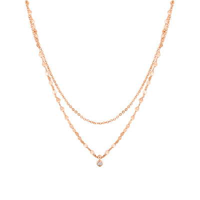 Layered CZ Necklace