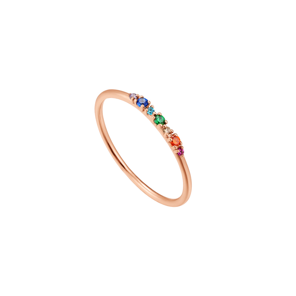 Colored Gemstone Ring