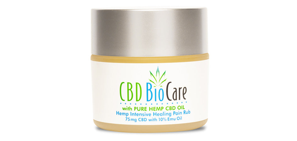 pure hemp cbd balm for pain from CBDBioCare.com.