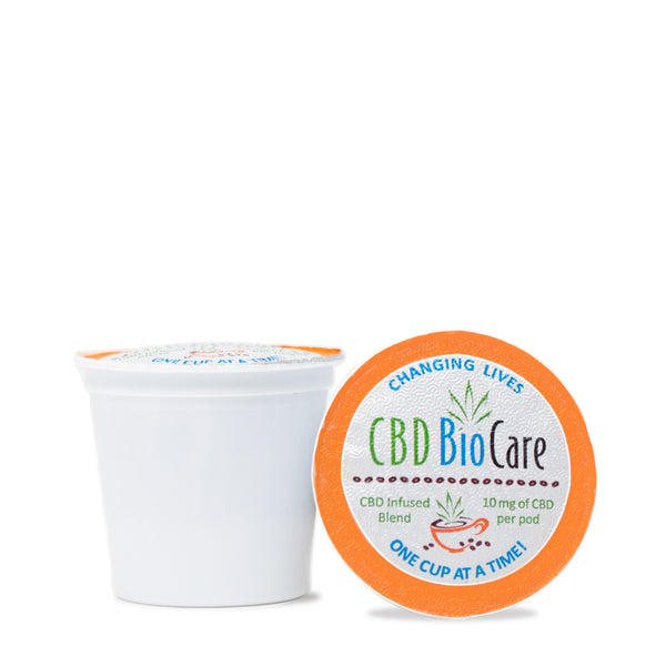 CBD Coffee Pods 10mg - 12 count box for sale online USA. bd infused coffee pods for sale.