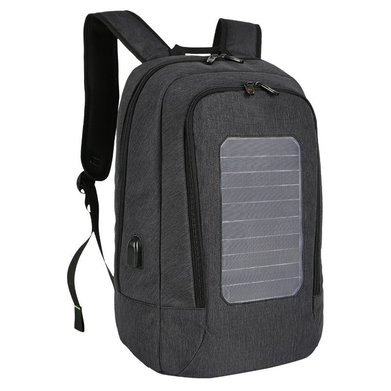 2018 New Solar Charging Backpack anti theft bag for Men and Women Travel Bags 15 Inch Laptop School Bag Backpack mochila - Premiersolartech