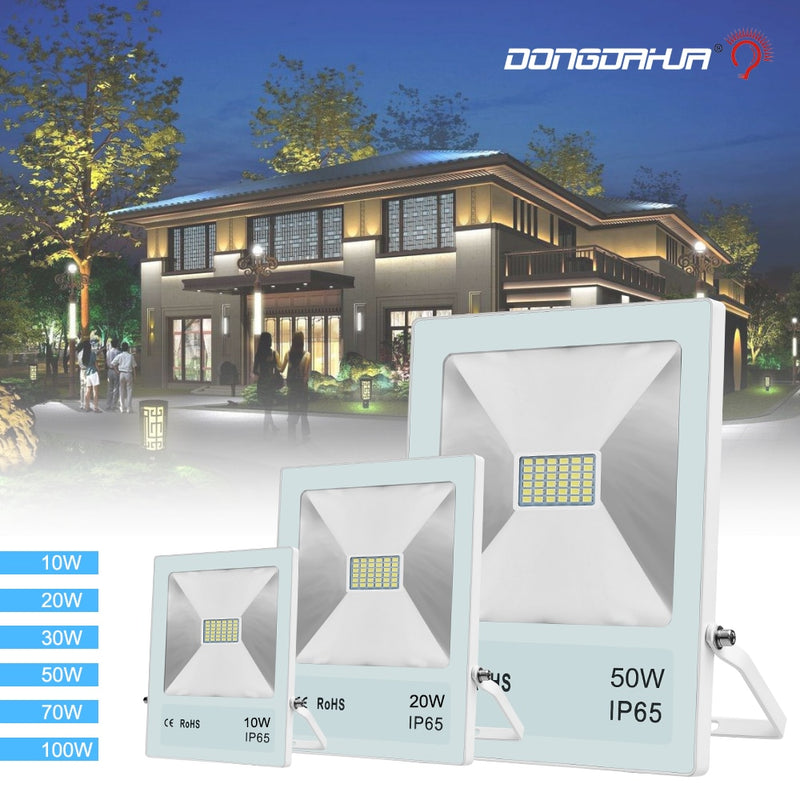 projector ip65 leds waterproof led the reflector out of outer door light to floodlight 10W 20W 50W 70W 100W outdoor wall light - Premiersolartech