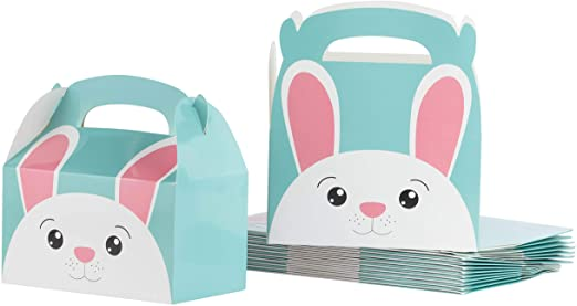 eco-friendly recycled cardboard Easter treat boxes