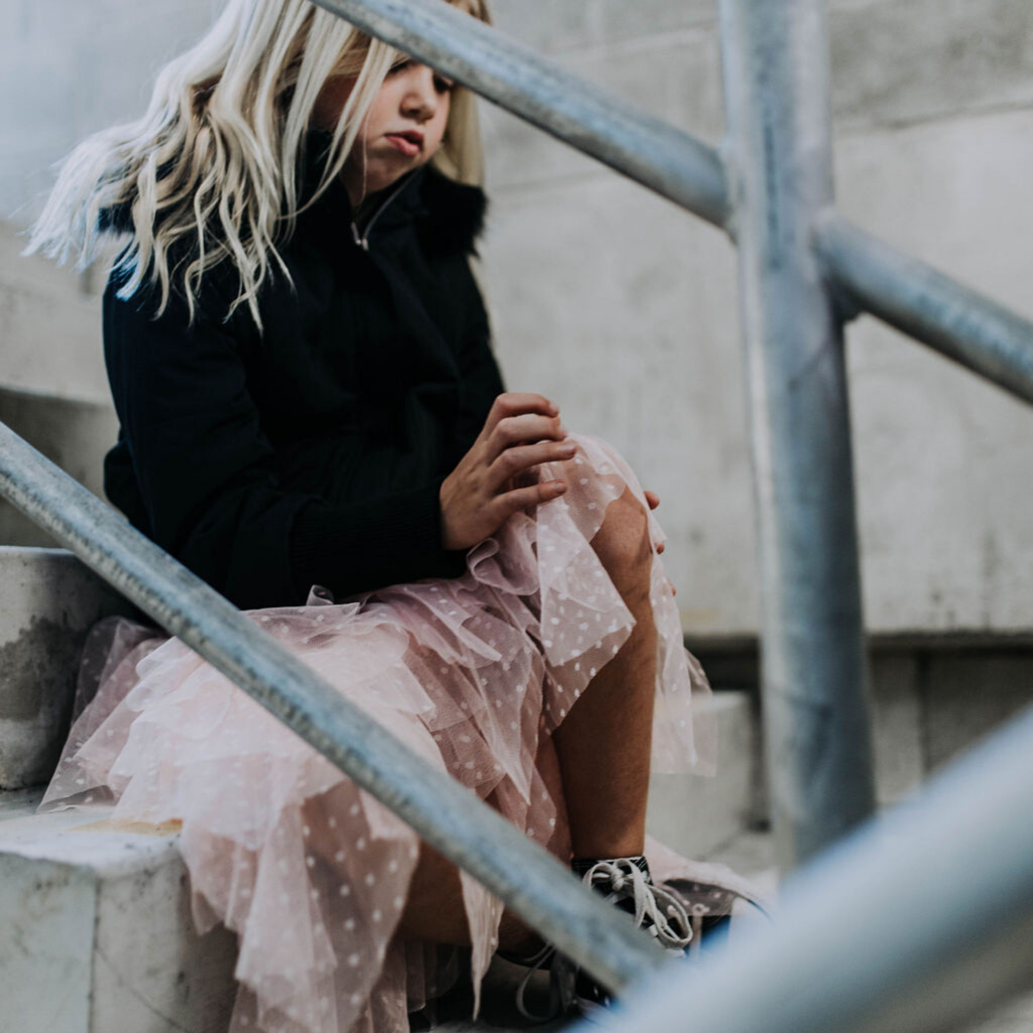 DUKE OF LONDON - Layered Tulle Skirt | Blush