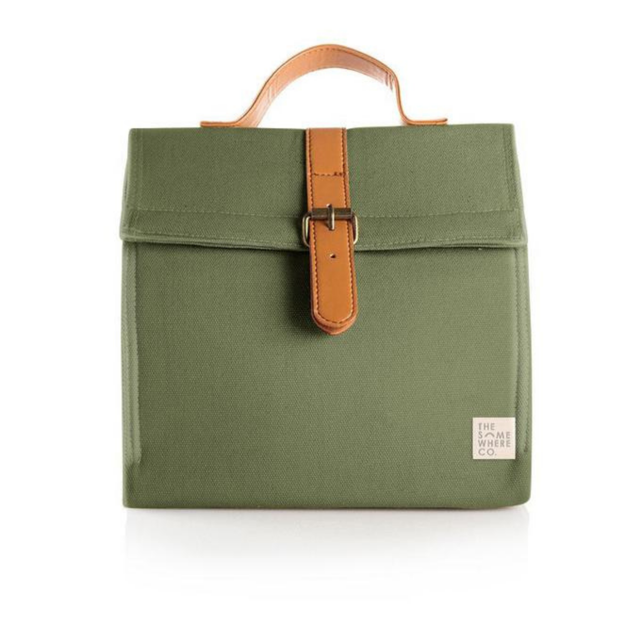 THE SOMEWHERE CO. - Olive Fields Lunch Satchel