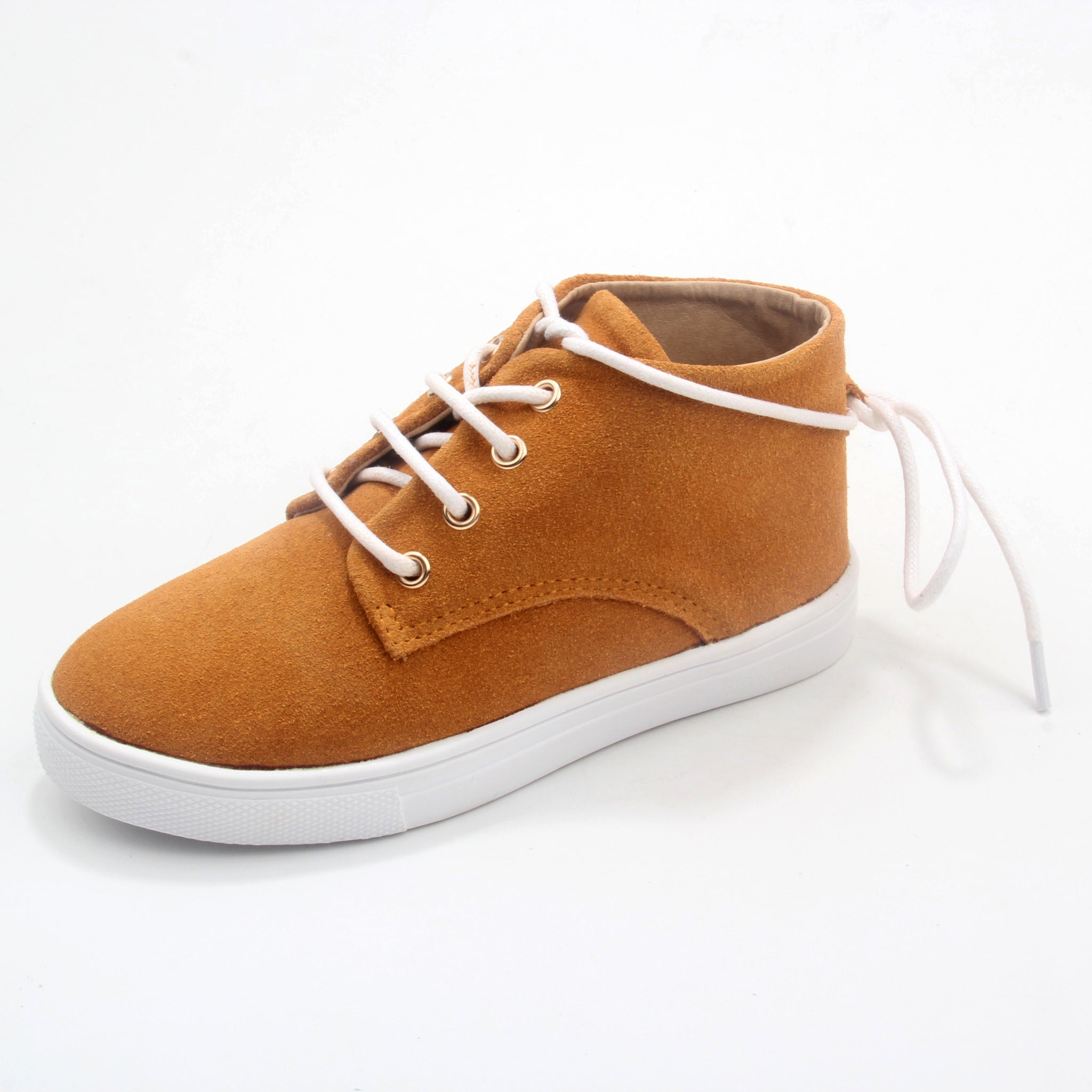 WILD CHASE - Mustard | Gelato Suede Leather Sneaker