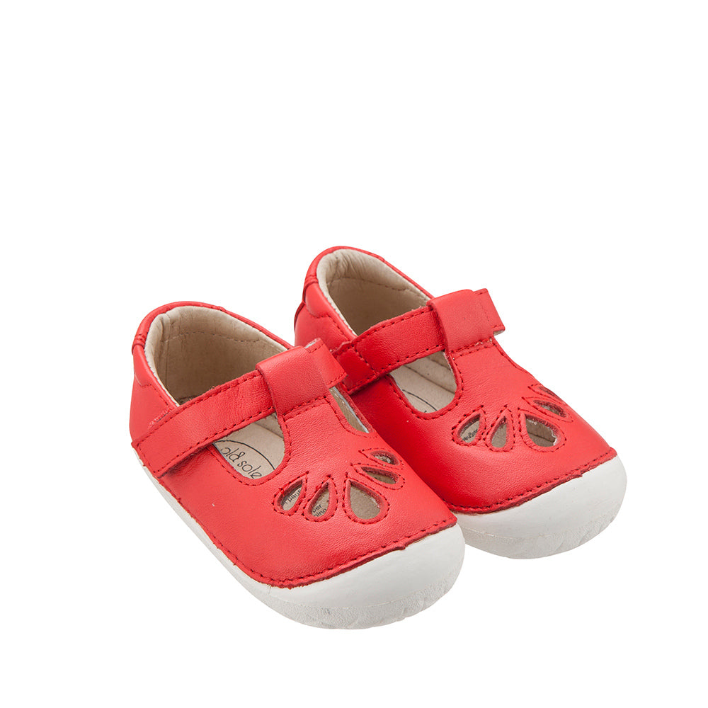 OLD SOLES - Pave Petal | Bright Red