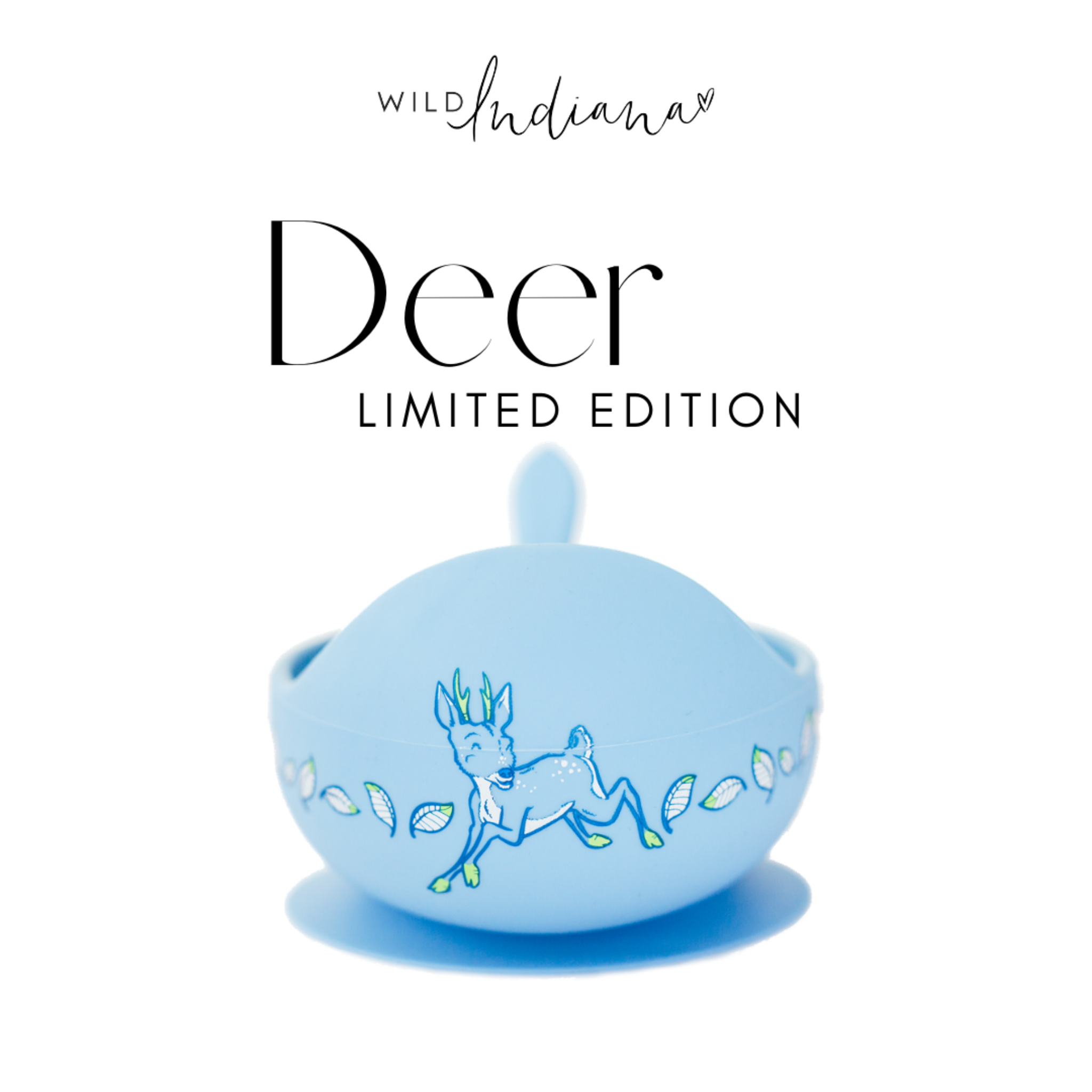 WILD INDIANA - LIMITED EDITION Silicone Bowl Set | DEER