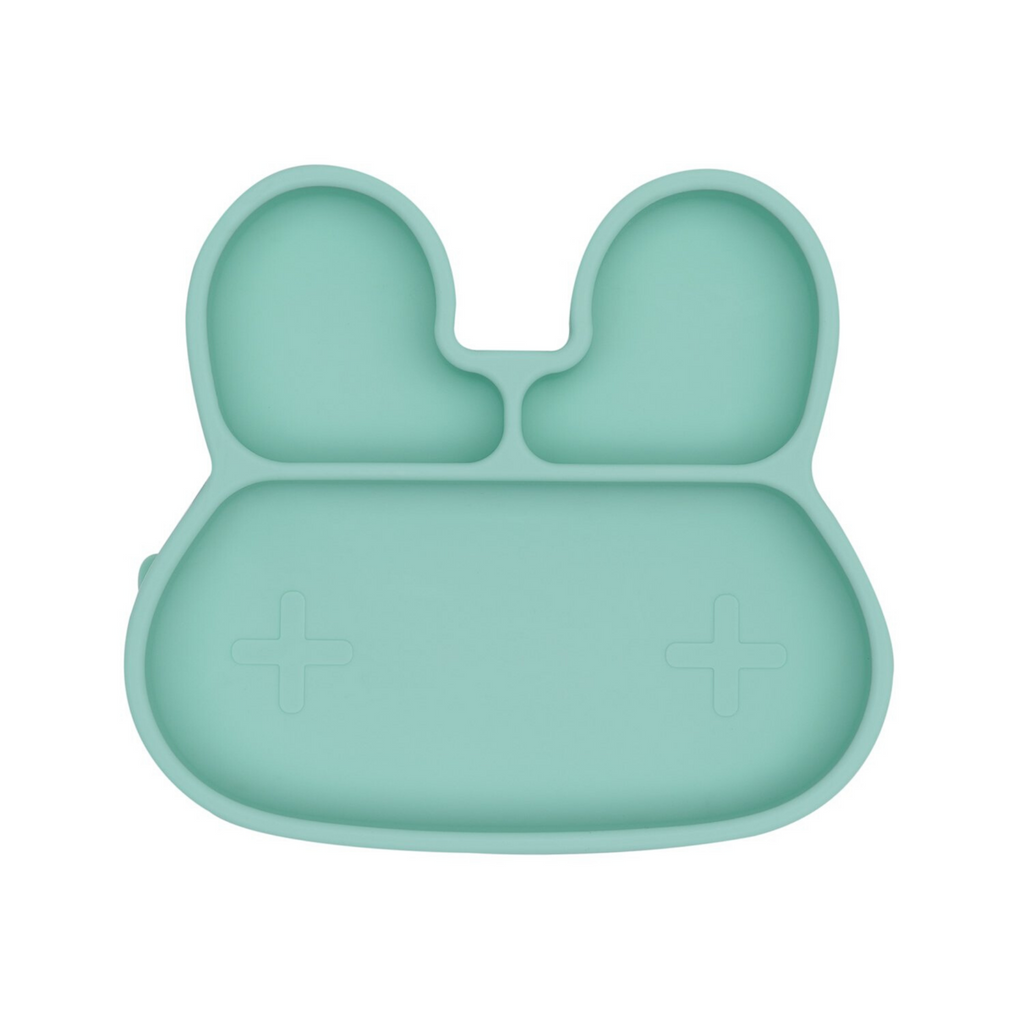 WE MIGHT BE TINY - Bunny Stickie Plate | Mint